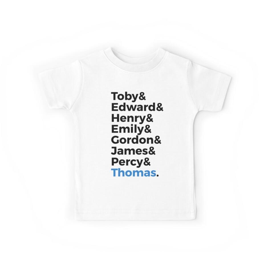 Thomas Name Shirt by GirlWednesday32