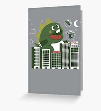 Bubzilla Greeting Card