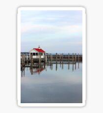 Northport Marina Boathouse - Northern Michigan Harbor Sticker