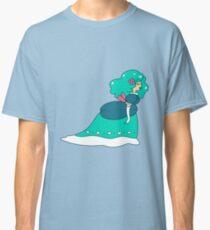 Cute Luxurious Girl Classic T-Shirt