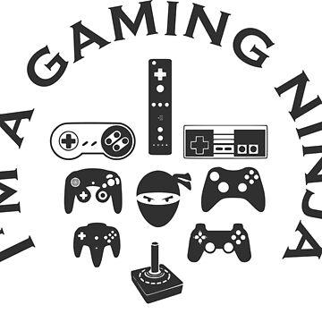 Gaming Ninja by Gameandgeek