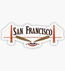 San Francisco Baseball Sticker