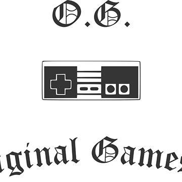 Original Gamester by Gameandgeek