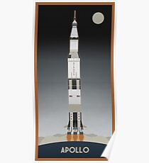 Apollo Launch Poster