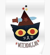 WitchDaggah - Night in the Woods Poster