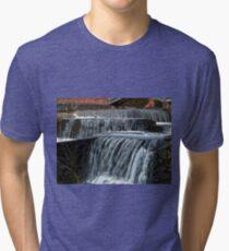 Beautiful Waterfall - falling water Tri-blend T-Shirt