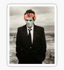 Matt Dillon Flower Crown Sticker