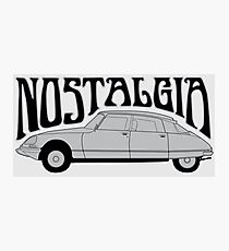 Nostalgia - Citroën DS Photographic Print