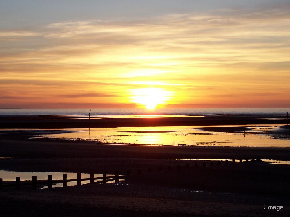Sunset on the Irish Sea by JImage