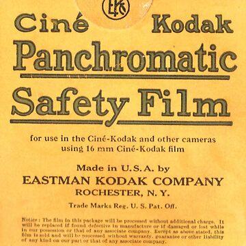 Ciné Kodak Panchromatic Safety Film by NitrateNerd