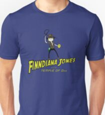 Finndiana Jones and the Temple of Ooo T-Shirt