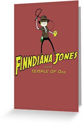 Finndiana Jones and the Temple of Ooo by danobanano