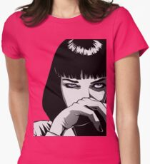 Pulp Fiction Mia Womens Fitted T-Shirt