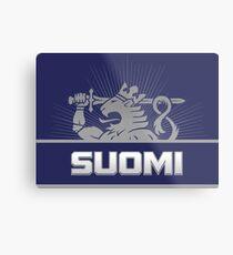 Suomi Finland Lion Metal Print