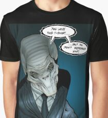 The Silent Command Graphic T-Shirt