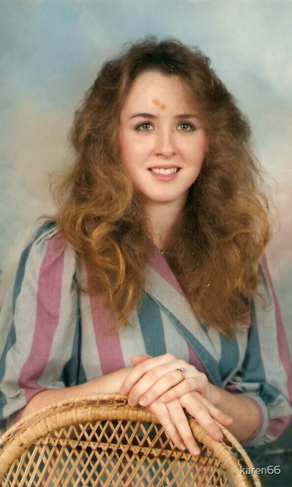 Portrait of Karen 1986 by karen66