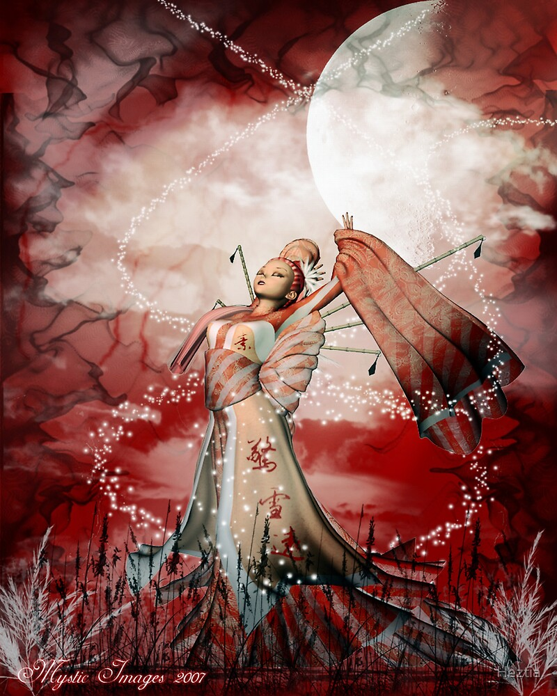 Priestess by Heztia