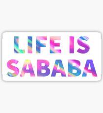 SABABA Sticker