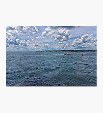 Entering Gloucester Harbor Photographic Print