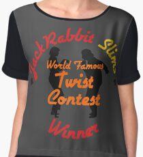 JackRabbit Slims Twist Contest Winner - Iphone / Ipod / Print / Shirt Chiffon Top