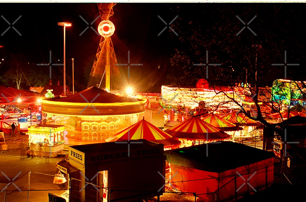 Fairground by Louise Green