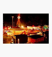 Fairground Photographic Print