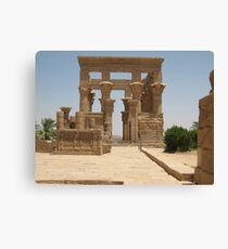 Philae Temple Egypt Canvas Print