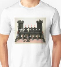 Horror Castle with Vampire, Skeleton and Ghost Minifigs Unisex T-Shirt