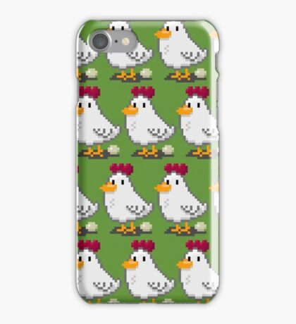 Pixel Chickens iPhone Case/Skin