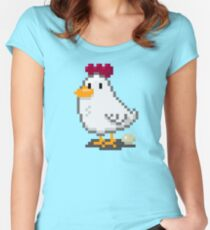 Pixel Chickens Women's Fitted Scoop T-Shirt