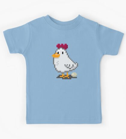 Pixel Chickens Kids Clothes