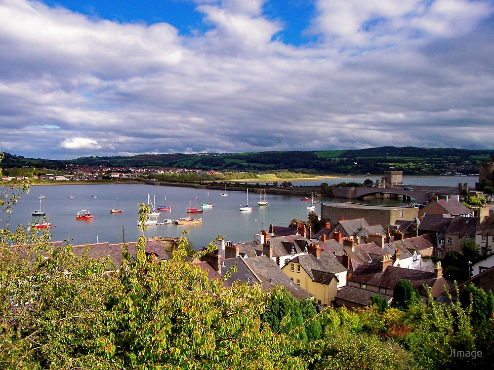 Conwy View by JImage