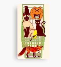 Pet (s) Shop Canvas Print