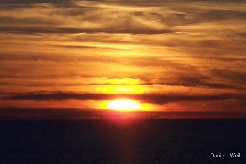 Dramatic Sundown by Daniela Weil