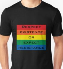 Respect Queer Existence T-Shirt