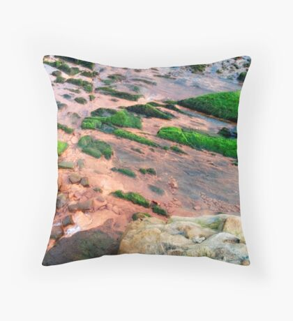Saturated Pollution Throw Pillow