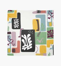 Matisse Inspired Paper Cut 2 Scarf