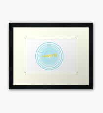 Canary Cry Framed Print