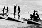 Children Playing  by John Violet