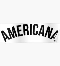Americana - Brazilian Jiu-Jitsu Poster