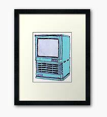 Television Set 3 Framed Print