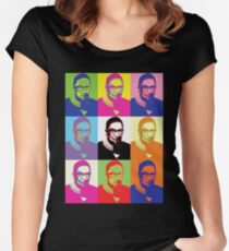 Notorious RBG Superstar Women's Fitted Scoop T-Shirt