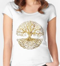 Celtic Tree Women's Fitted Scoop T-Shirt