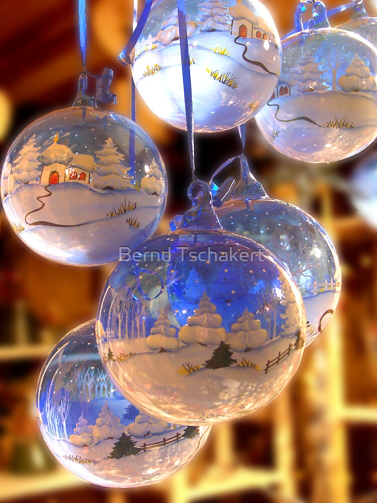 Christmas Tree Balls by Bernd Tschakert