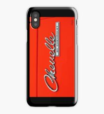 Chevelle by Chevrolet iPhone Case/Skin