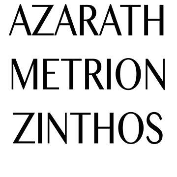 Azarath Metrion Zinthos von dollymod