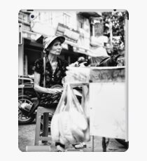 Local Lady in Hanoi iPad Case/Skin