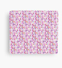 Pink eggs Canvas Print