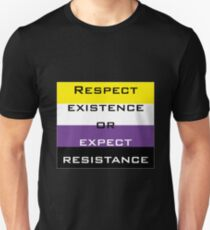 Respect Nonbinary Existence T-Shirt