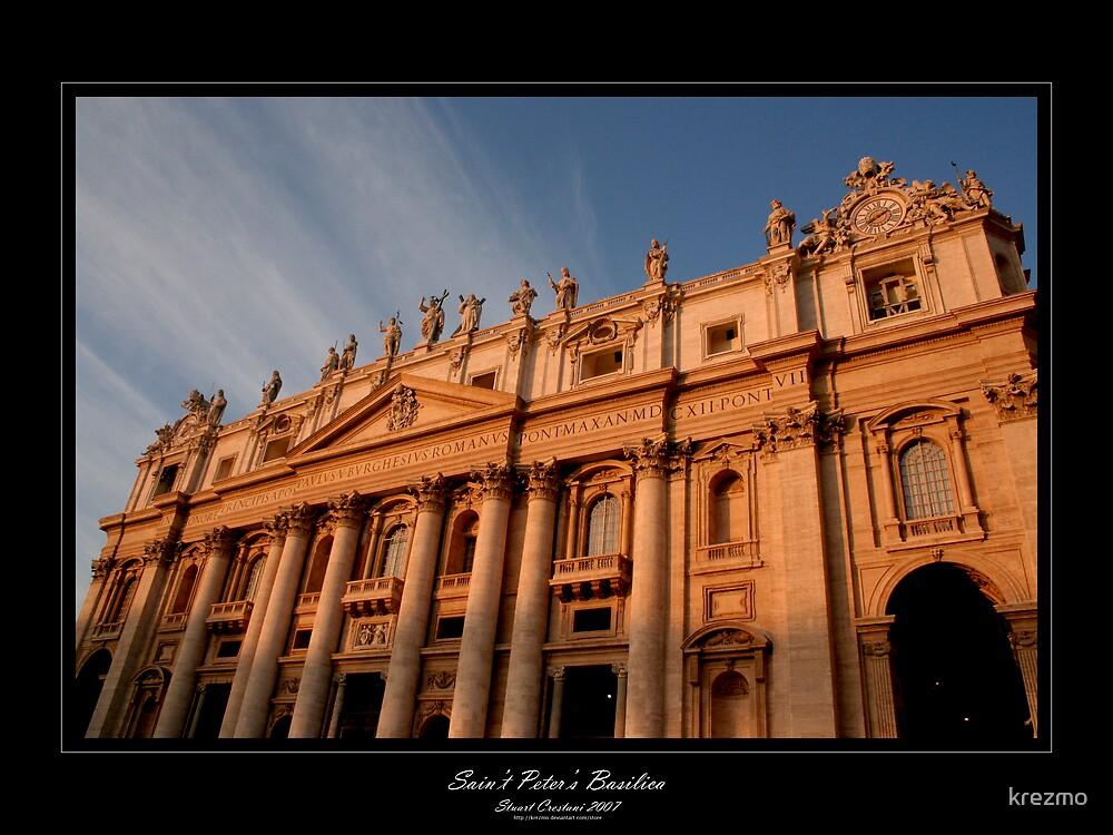 Saint Peter's Basilica by krezmo
